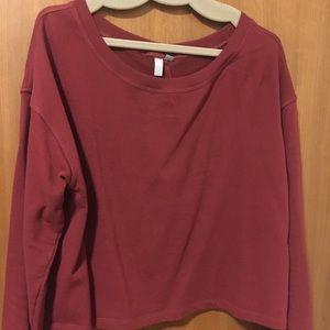 ASOS CURVE sweatshirt with split back